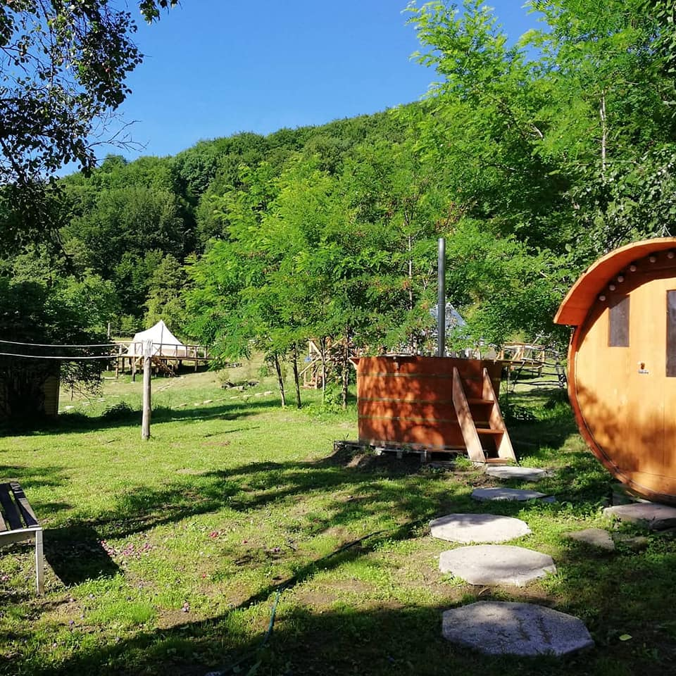 sunrise glamping retreat arges