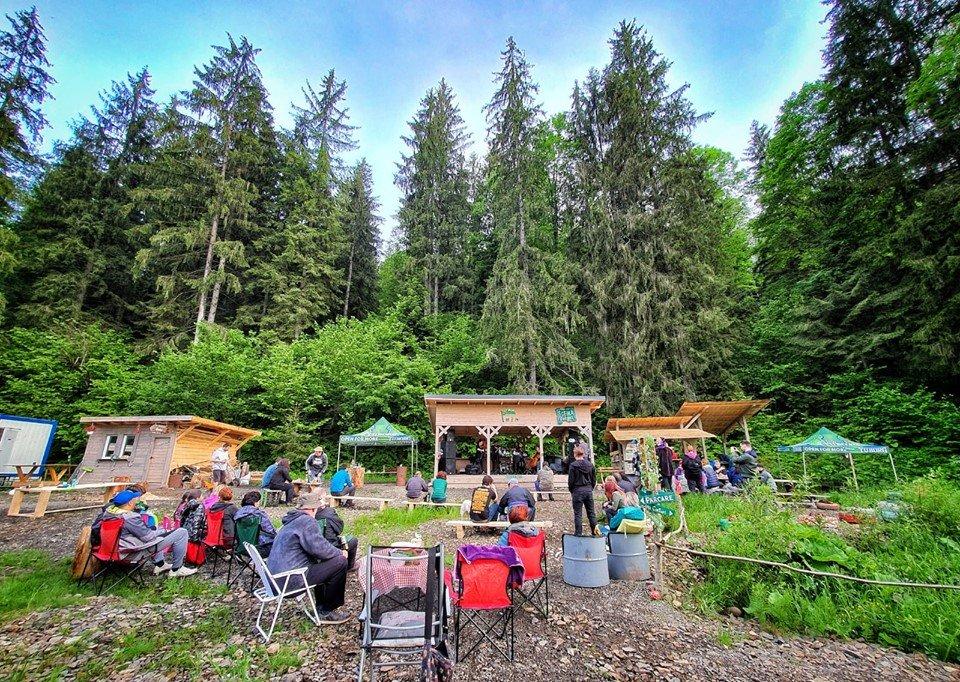 camping lunca bradului