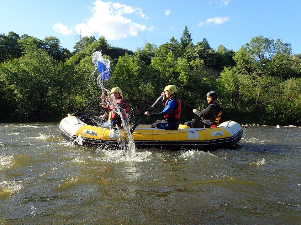 rafting mures