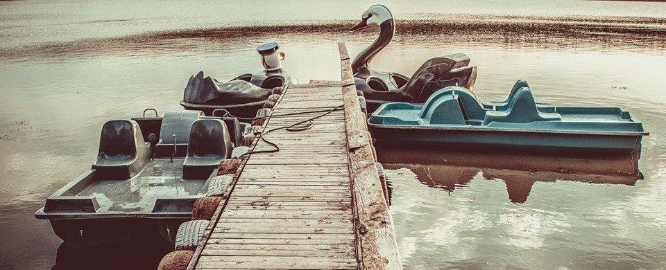 plimbari hidrobicicleta lacul dorobant iasi