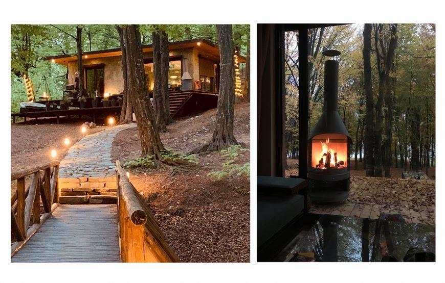 luxury lake house