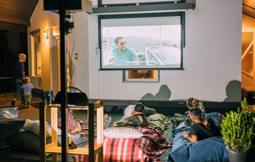 cinema guesthouse transylvania