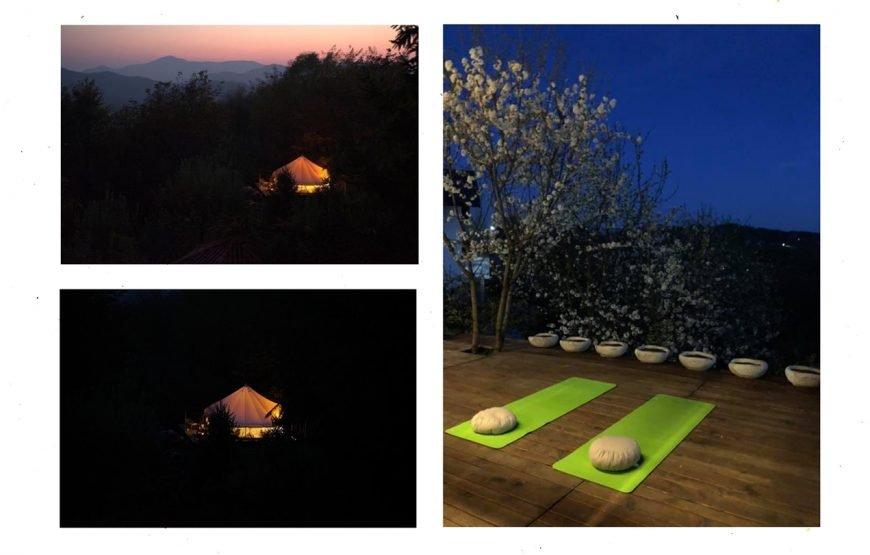 at home - yoga retreat & glamping
