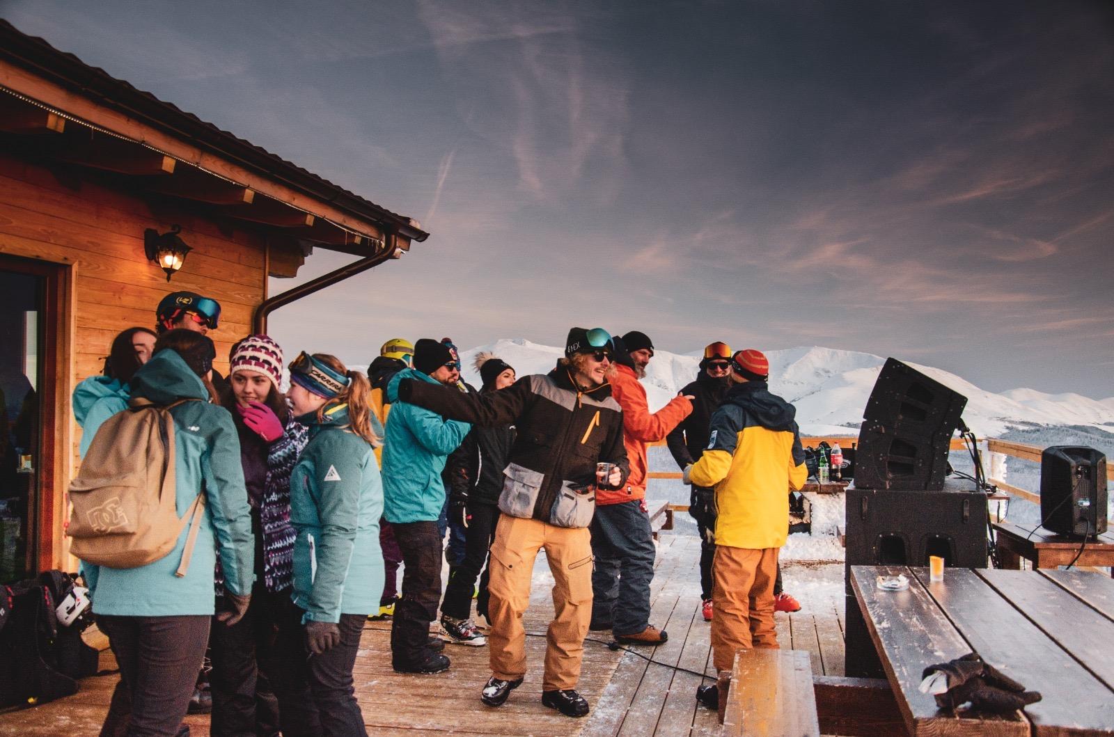 part apres ski caras severin