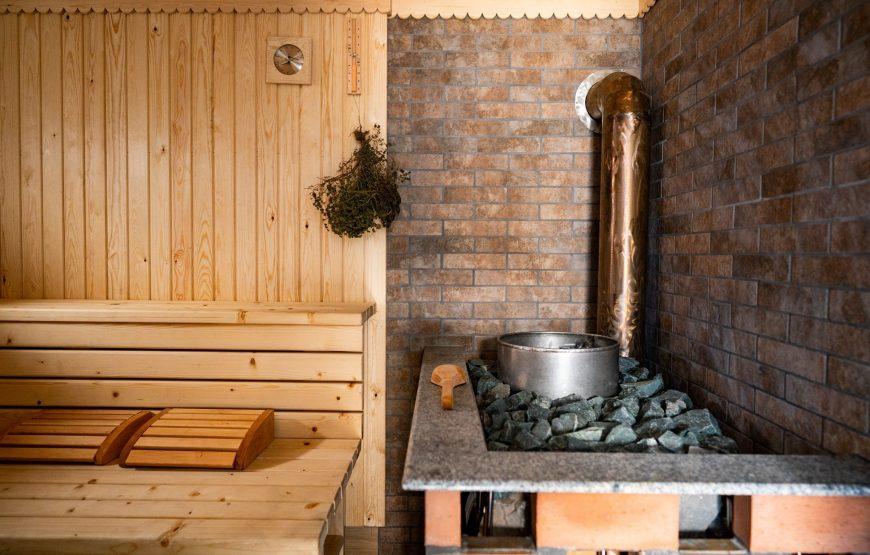 cazare cu sauna delta dunarii
